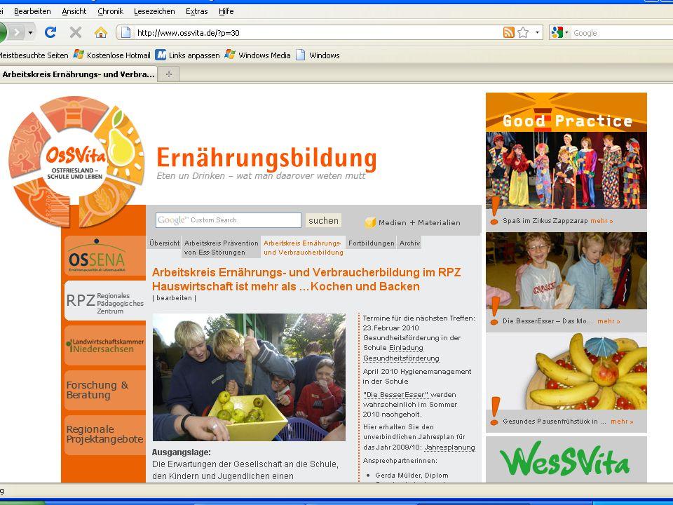 Gesundheitsförderung in der Schule 23.02.2010