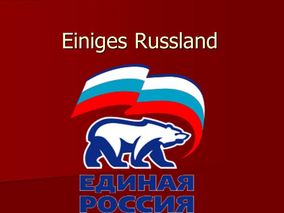 Einiges Russland ist eine russische Partei.
