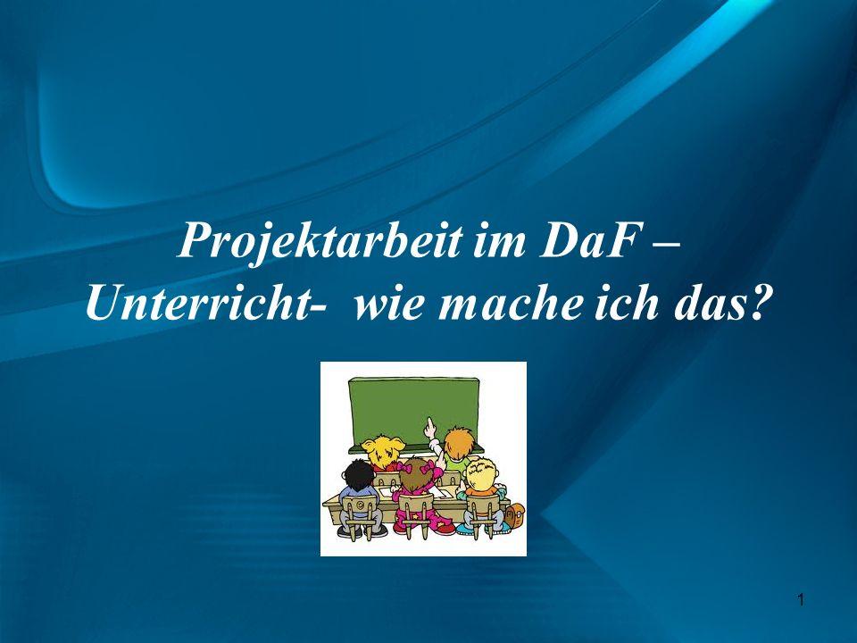 Begriffsklärung : Projektbegriff (lat.