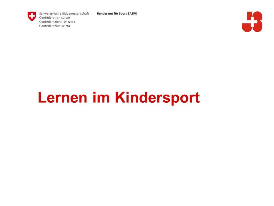 Lernen im Kindersport