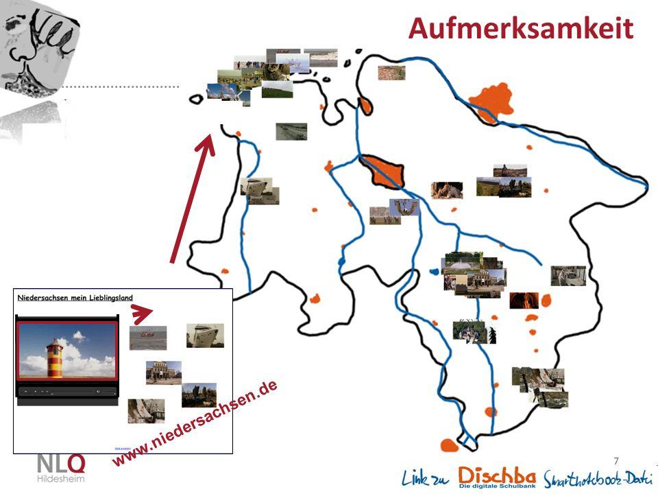 7 www.niedersachsen.de Aufmerksamkeit