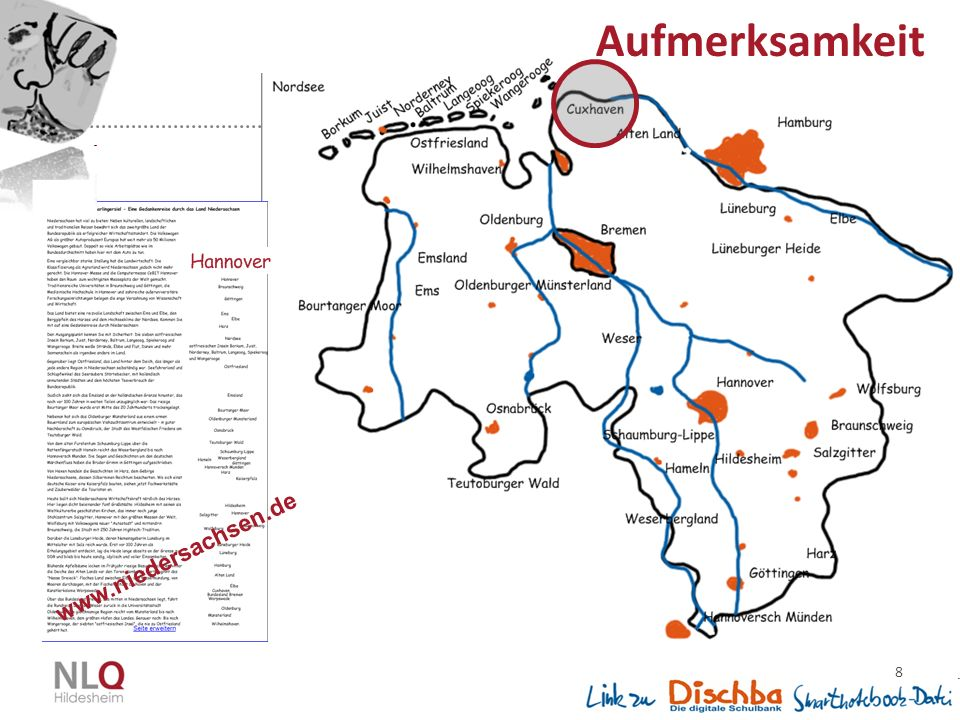 8 www.niedersachsen.de Aufmerksamkeit