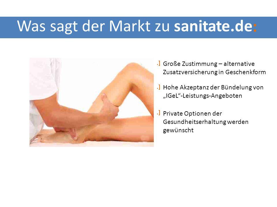 www.sanitate.de Wohlbefinden geben Gesundheit schenken Behandlung spenden Aufmerksamkeit widmen Gesundheitsgutschein sanitateCard