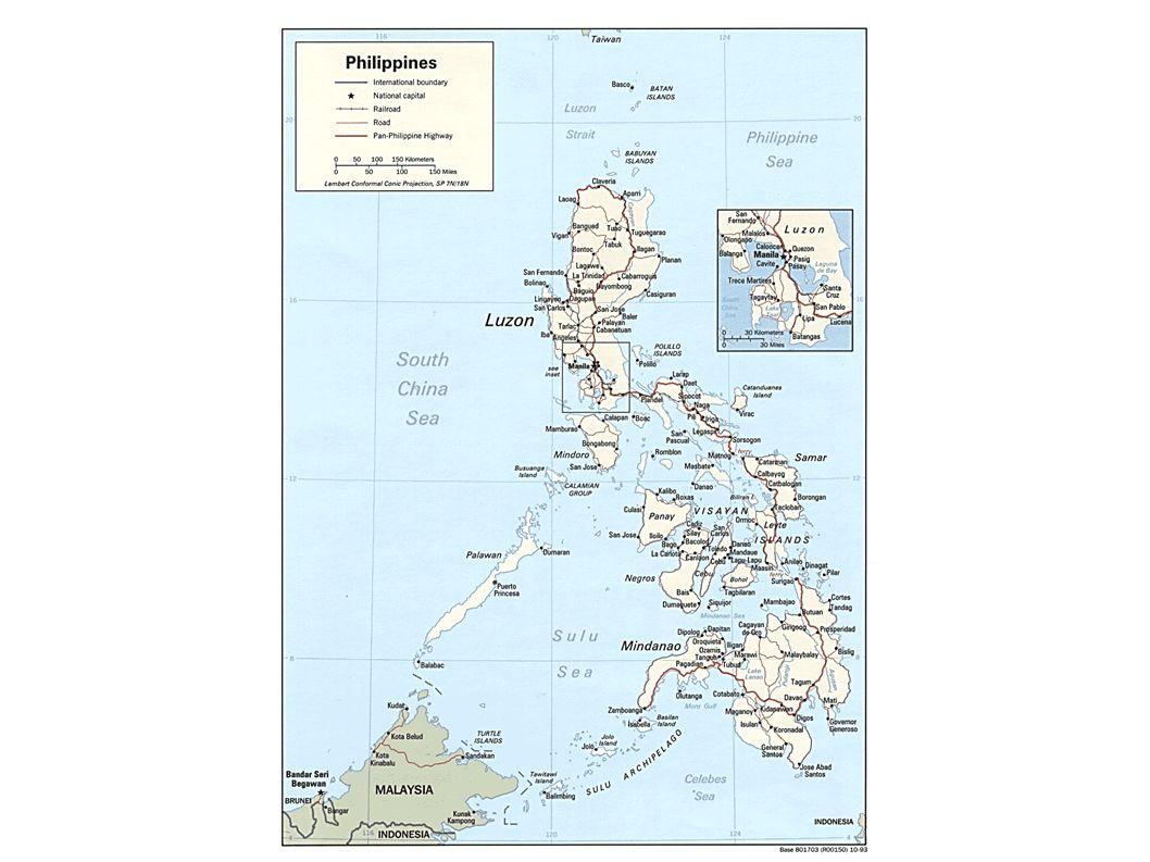 Allgemeines Bohol Hauptstadt: Tagbilaran Einwohner: 1.225.128 Fläche: 4.117 km² Befindet sich im Zentrum der Inselgruppe Visayas Küstenlänge: 332 km