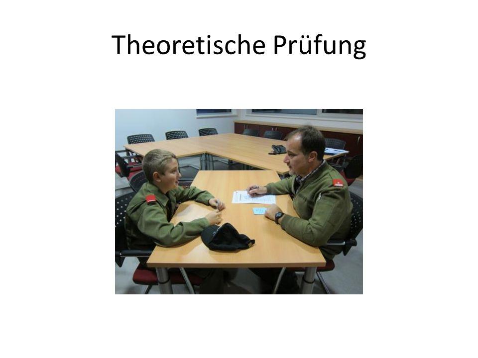 Theoretische Prüfung
