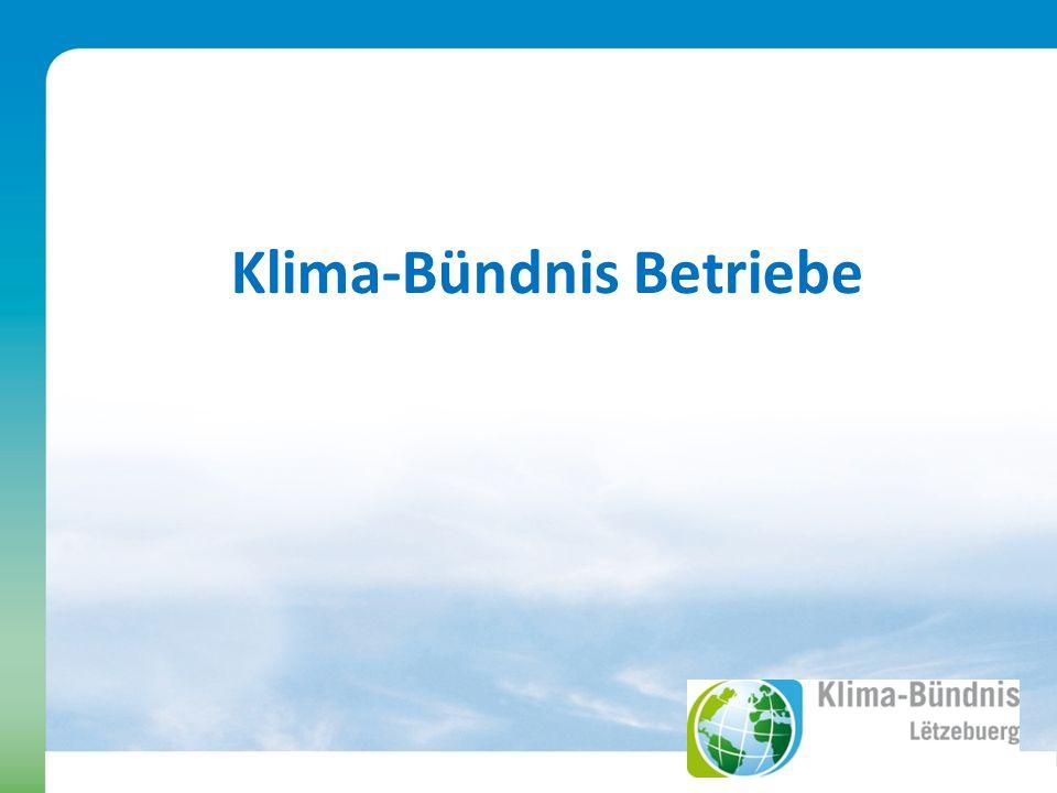 Klima-Bündnis Betriebe