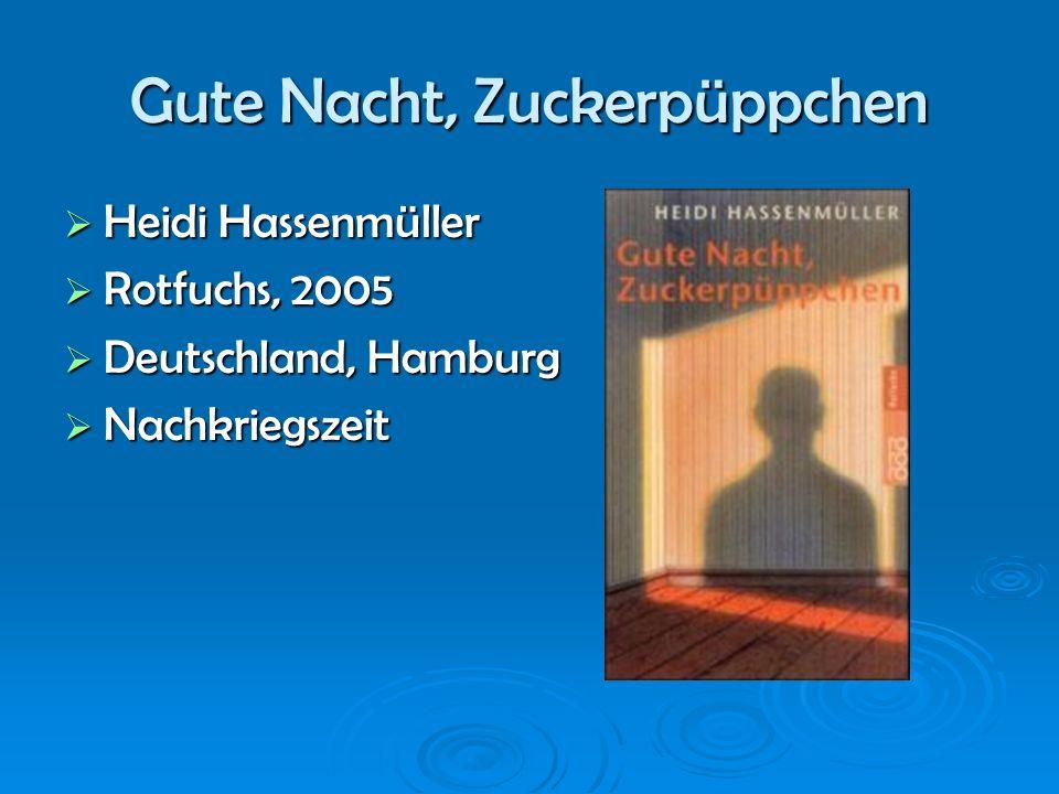 Heidi Hassenmüller 1941 in Hamburg geboren 1941 in Hamburg geboren vier Kindern in Niederlande vier Kindern in Niederlande Studierte Journalistik Studierte Journalistik Schrieb für Zeitungen Schrieb für Zeitungen Weiter Bücher Weiter Bücher