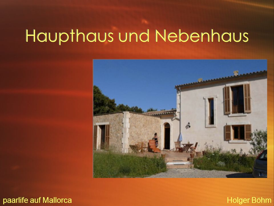 Blick aus dem Doppelzimmer / Haupthaus paarlife auf MallorcaHolger Böhm