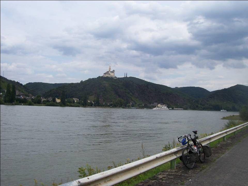 Gerd der mich durch Koblenz schleuste
