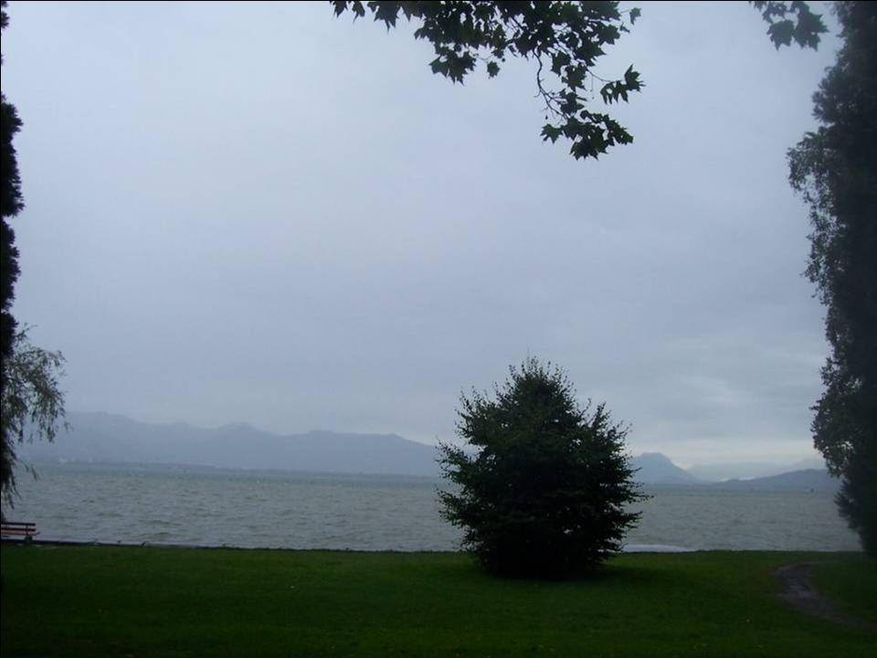 …in herrliches Wetter!