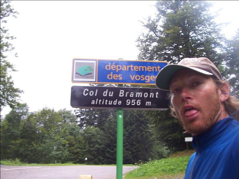 Die Vogesen in Frankreich