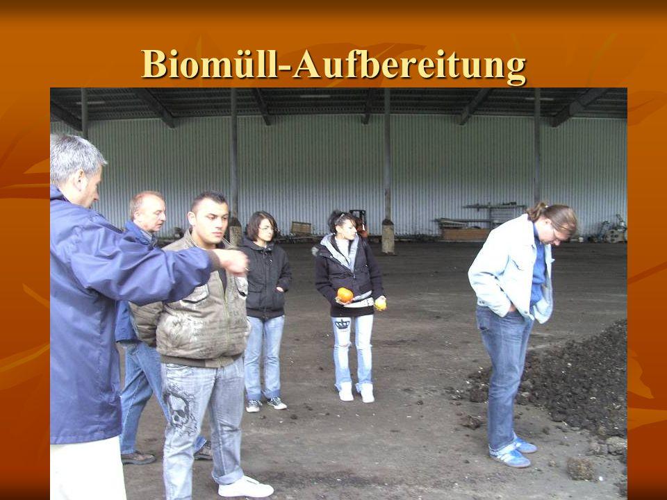 Biomüll-Aufbereitung