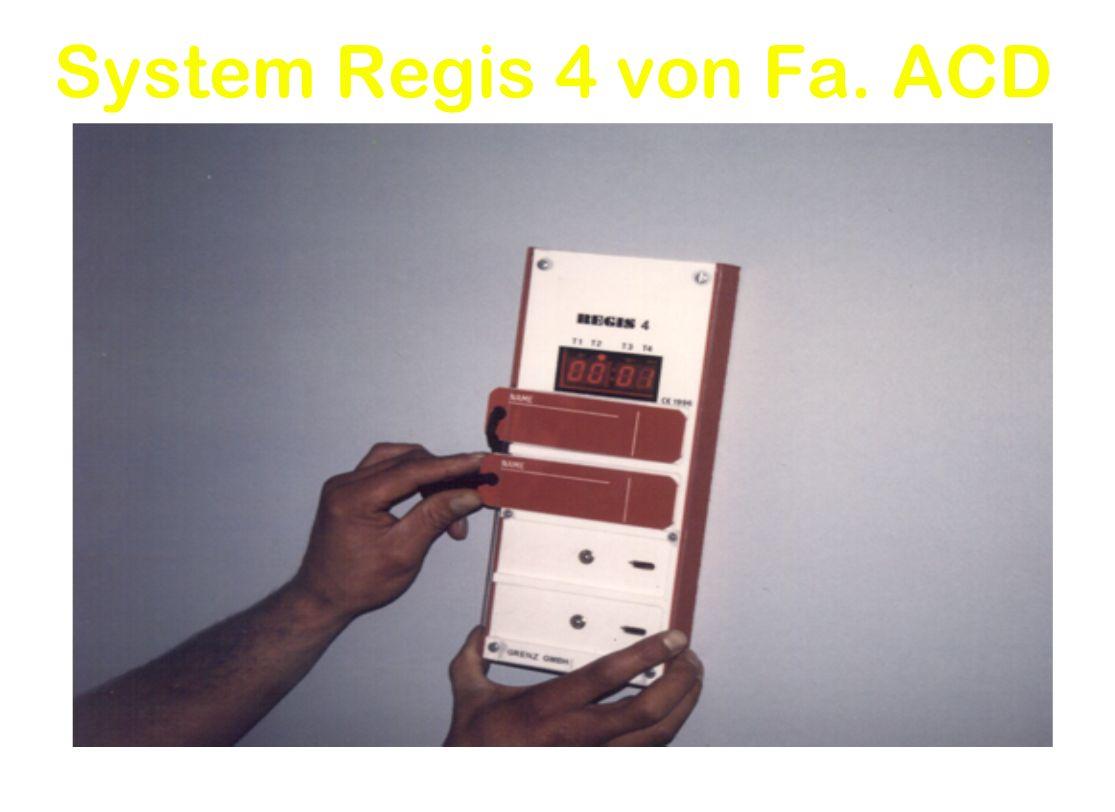 System Regis 4 von Fa. ACD