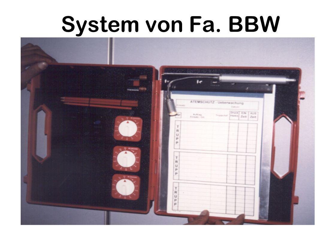System von Fa. BBW