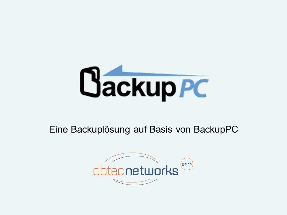Eine Backuplösung auf Basis von BackupPC