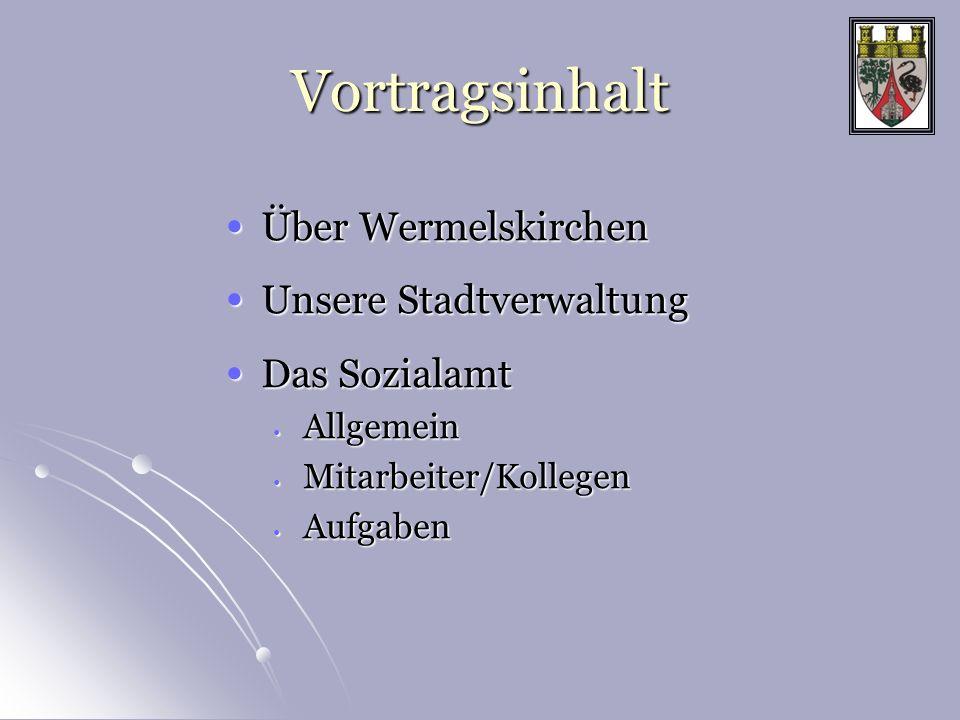 Stadt Wermelskirchen Wermelskirchen ist eine Stadt im Rheinisch-Bergischen Kreis mit den Ortsteilen Dhünn und Dabringhausen im Naturpark Bergisches Land.