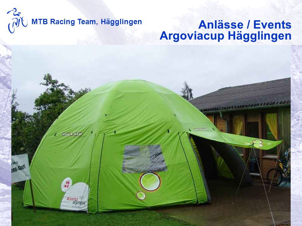 MTB Racing Team, Hägglingen Anlässe / Events Argoviacup Hägglingen