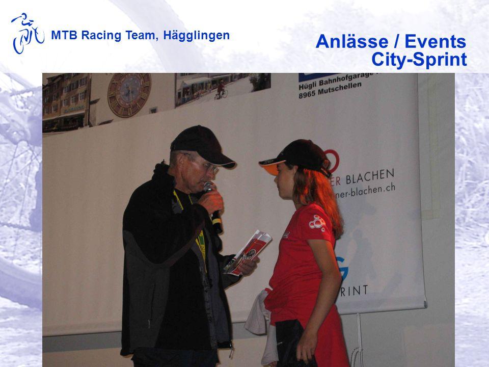 MTB Racing Team, Hägglingen Anlässe / Events Claushock
