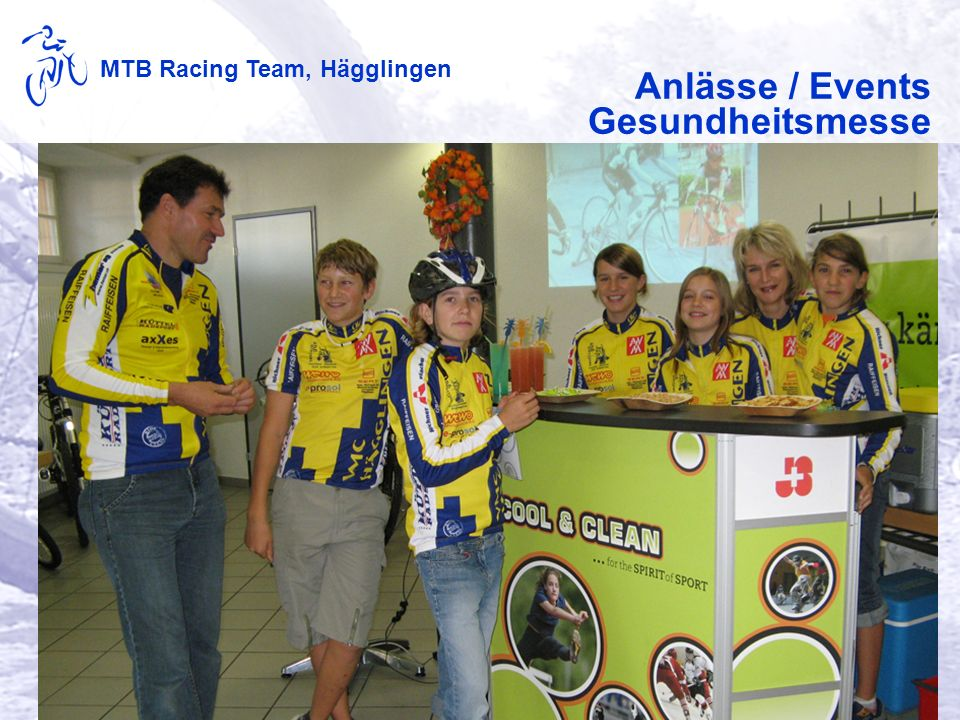 MTB Racing Team, Hägglingen Anlässe / Events Gesundheitsmesse