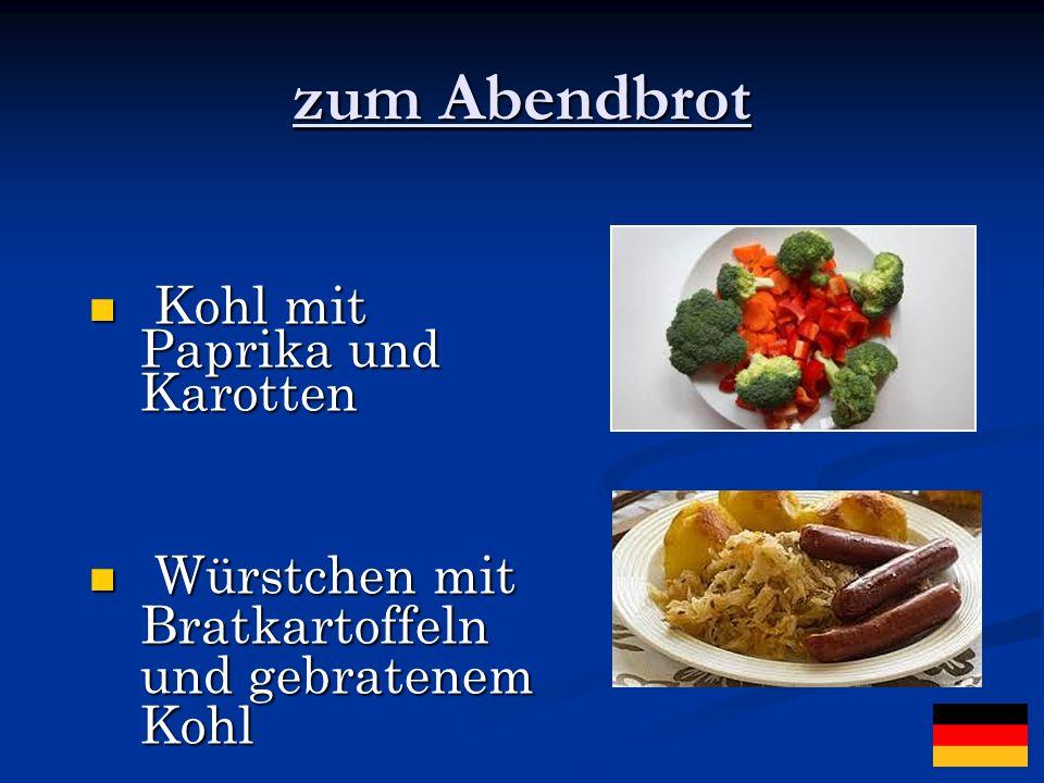 ...andere verschiedene Gerichte: