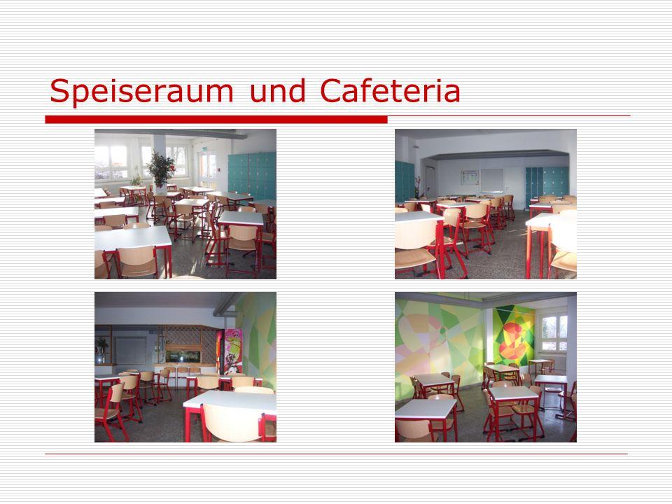 Speiseraum und Cafeteria