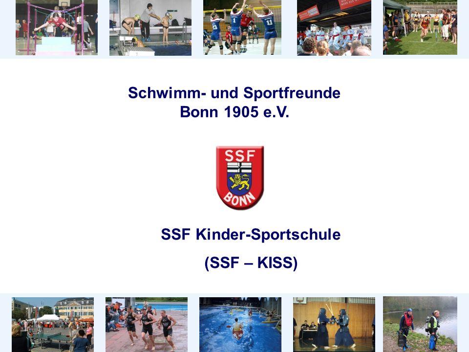 Schwimm- und Sportfreunde Bonn 1905 e.V. SSF Kinder-Sportschule (SSF – KISS)