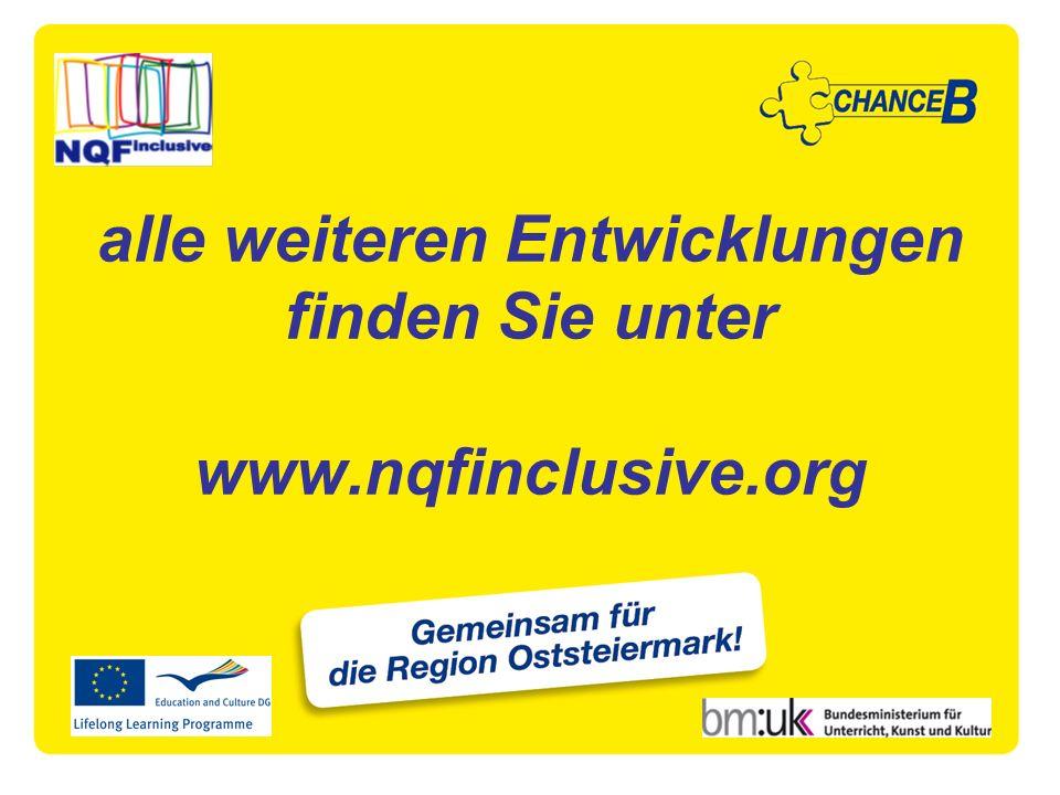 alle weiteren Entwicklungen finden Sie unter www.nqfinclusive.org