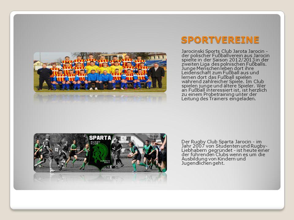 SPORTVEREINE Jarocinski Sports Club Jarota Jarocin - der polischer Fußballverein aus Jarocin spielte in der Saison 2012/2013 in der zweiten Liga des p
