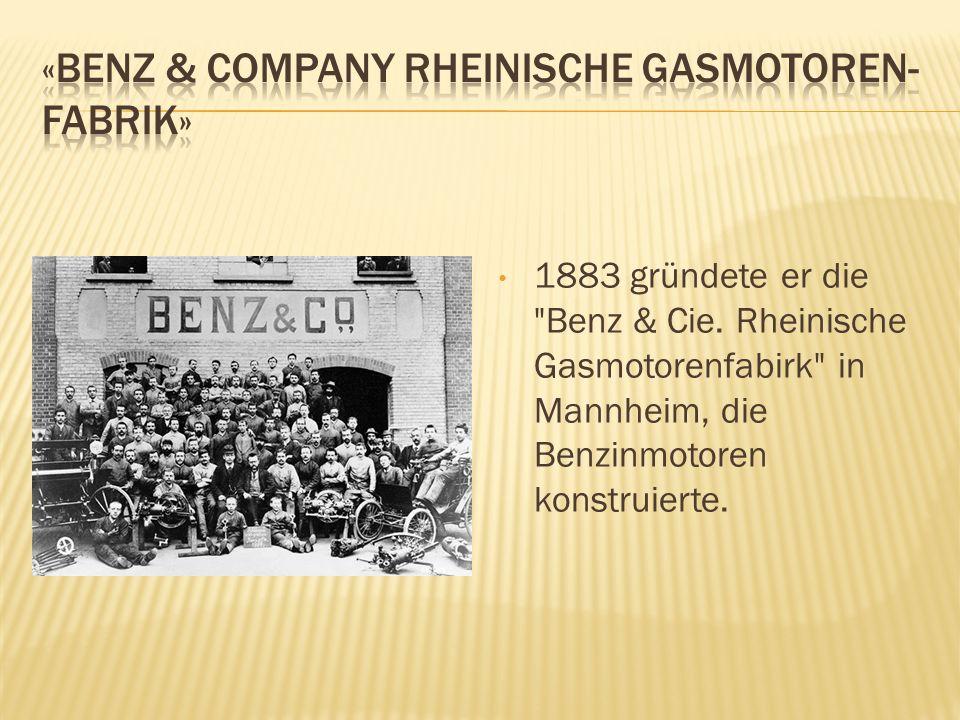 1883 gründete er die