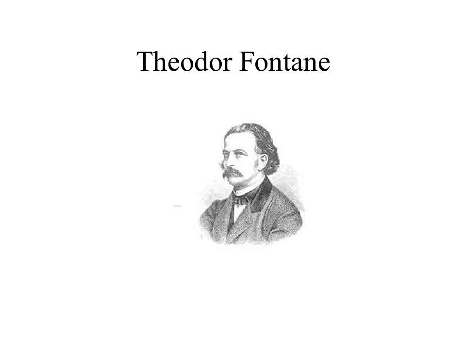 Theodor Fontane - Biografie Theodor Fontane wurde am 30.