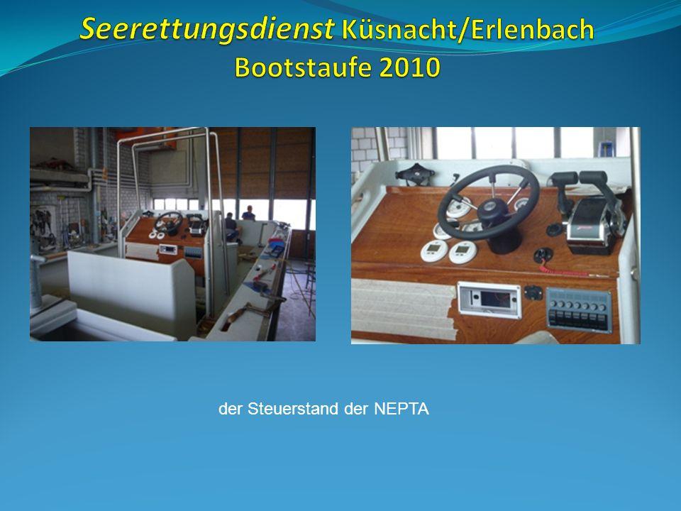 Das neueste Einsatzboot K-4 (Tina) entsteht