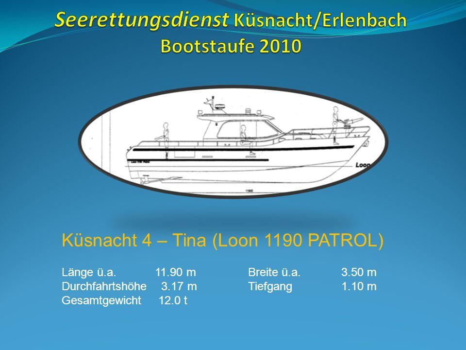 Die Seeretter legen Hand an bei der Kiellegung des neuen Einsatzbootes