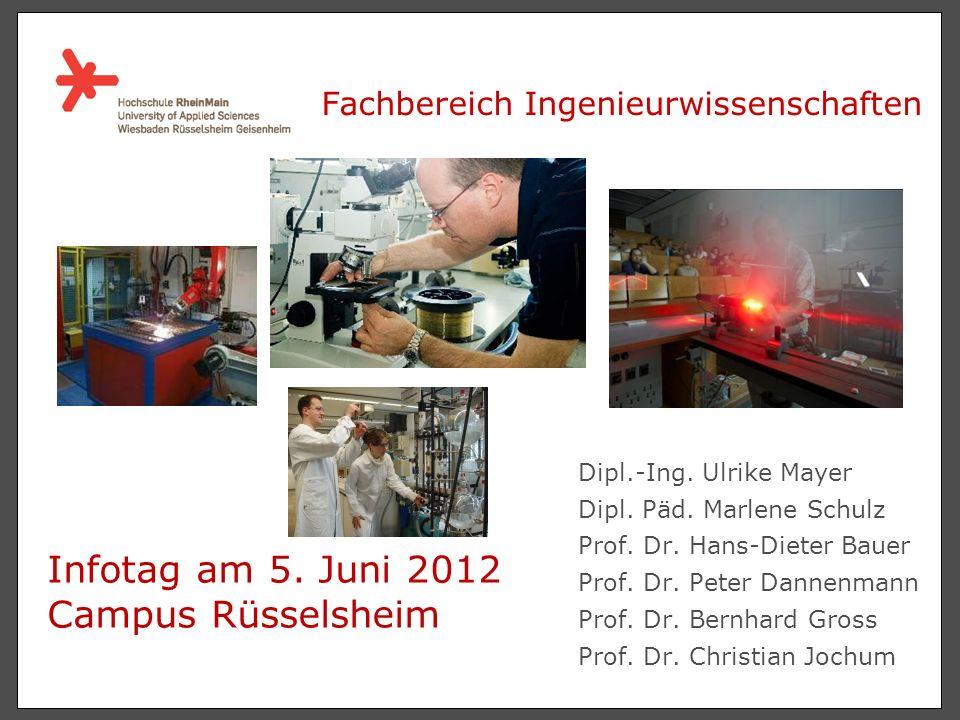 Dipl.-Ing.Ulrike Mayer Dipl. Päd. Marlene Schulz Prof.