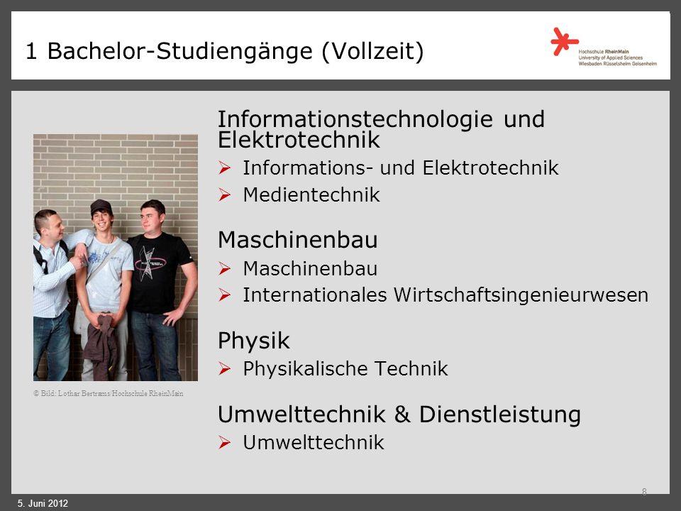 1 Fachbereich Ingenieurwissenschaften größter Fachbereich der Hochschule RheinMain zahlreiche modern ausgestattete Labore Preis für exzellente Lehre d