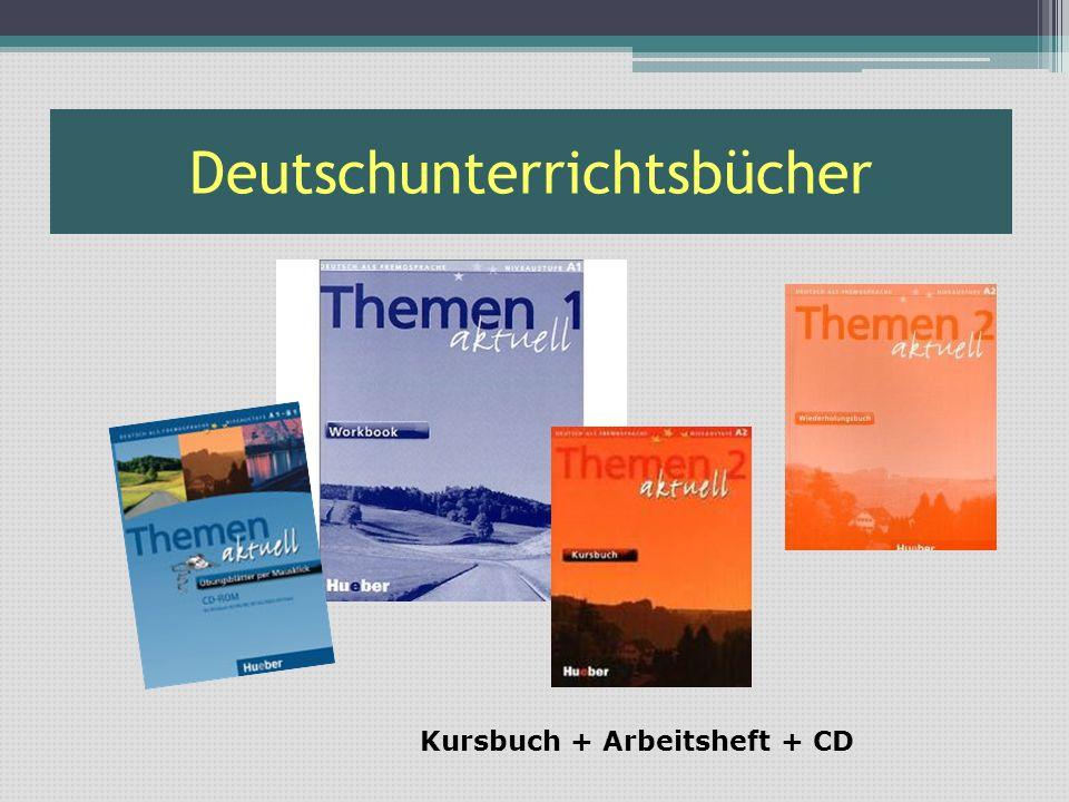 Russischunterrichtsbücher Kursbuch + Arbeitsheft + CD (Kassette)