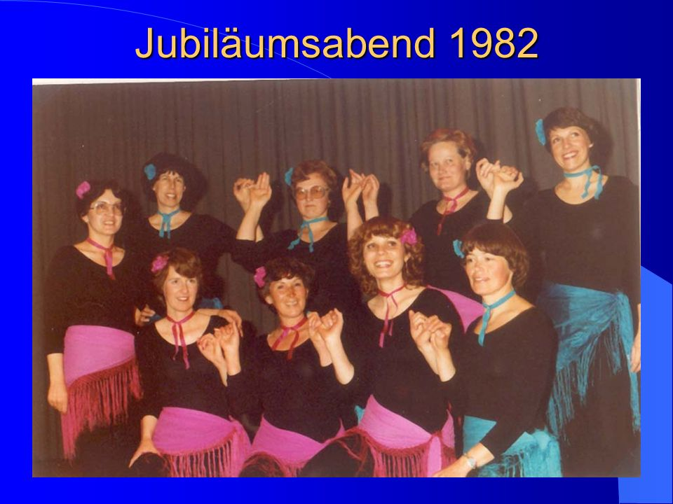 Jubiläumsabend 1982