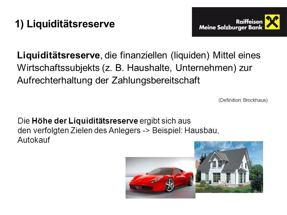 Liquiditätsreserve, die finanziellen (liquiden) Mittel eines Wirtschaftssubjekts (z. B. Haushalte, Unternehmen) zur Aufrechterhaltung der Zahlungsbere
