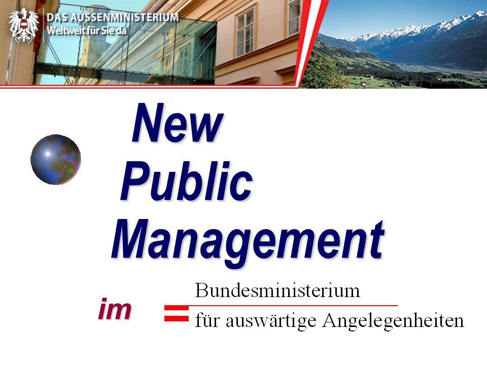 New Public Management im New Public Management im