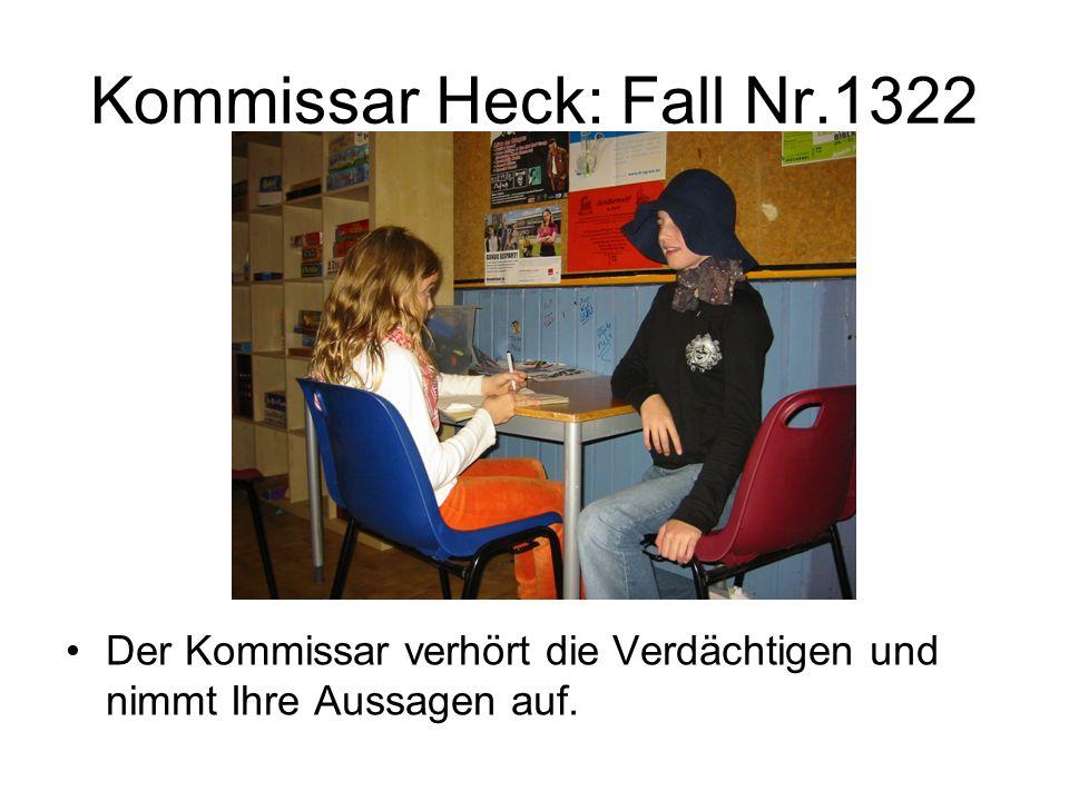 Kommissar Heck: Fall Nr.1322 Der Kommissar verkleidet sich als Geist.