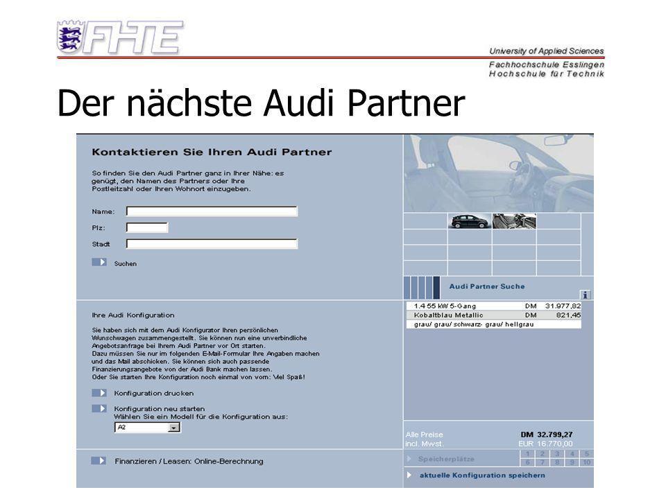 Der nächste Audi Partner