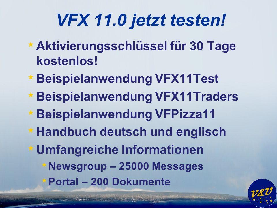 VFX 11.0 jetzt testen. * Aktivierungsschlüssel für 30 Tage kostenlos.