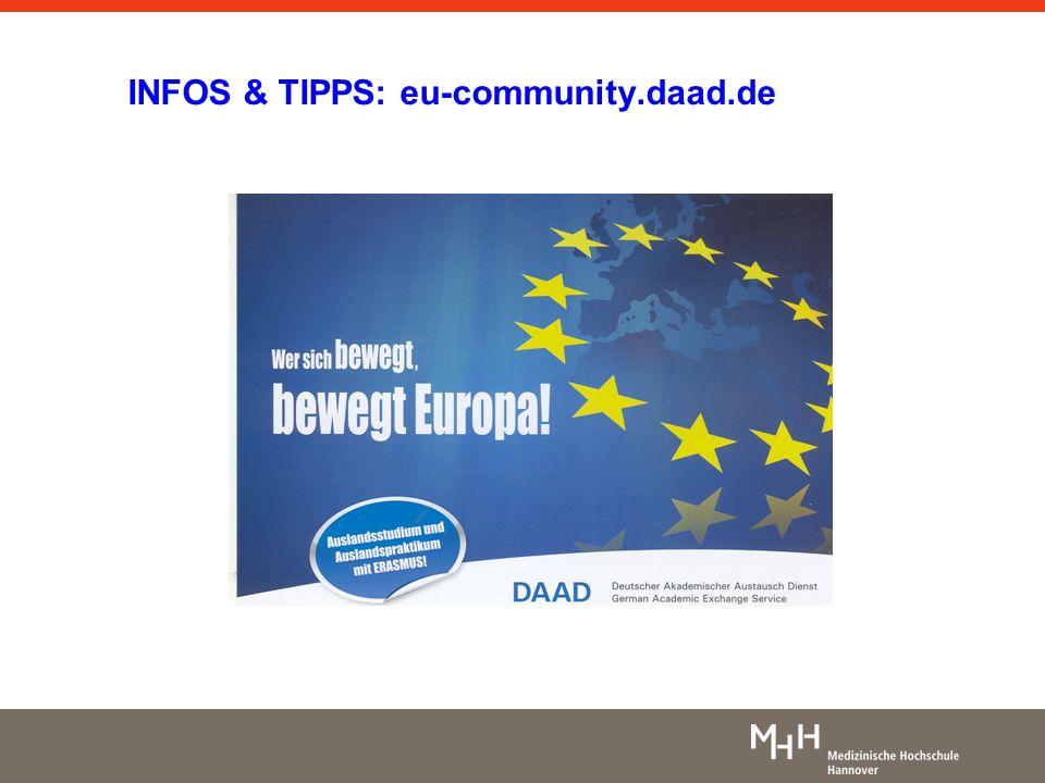 INFOS & TIPPS: eu-community.daad.de