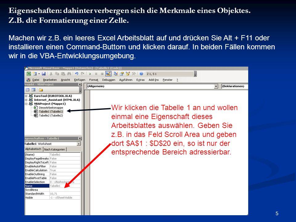 16 Mit der MsgBox können wir nun Daten sehr einfach ausgeben, Gibt es auch eine einfache Funktion Daten abzufragen und in das Programm zu bekommen.