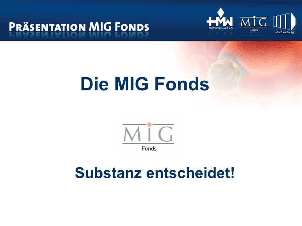 Die MIG Fonds Substanz entscheidet!