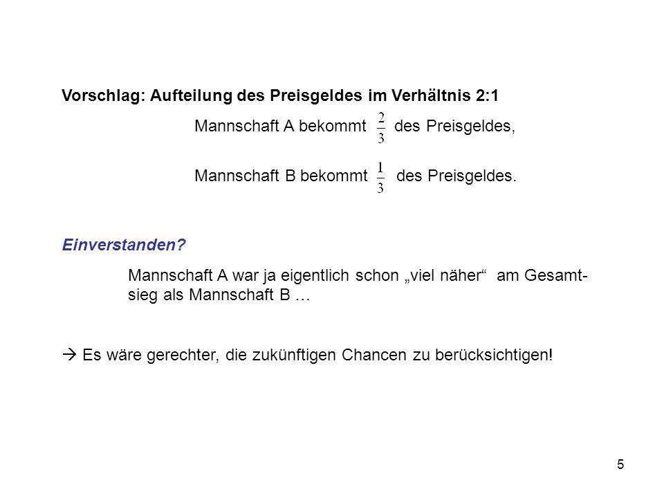 36 Situation 2: s s w w Gefäß A B AB s(l)s(r)w(l)w(r) P(w)= = Pfadregel und Additionsaxiom
