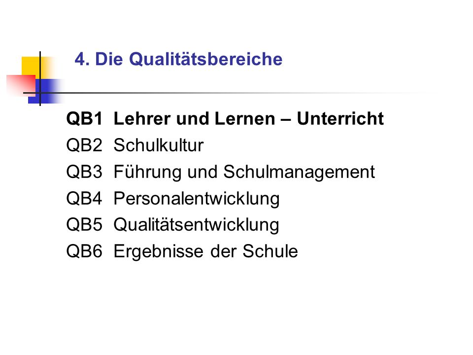 3.Die Qualitätsanalyse als Instrument im Kontext der Qualitätssicherung Zentrale Abschluss- prüfungen Zentrale Abschluss- prüfungen Zentrale Lernstand