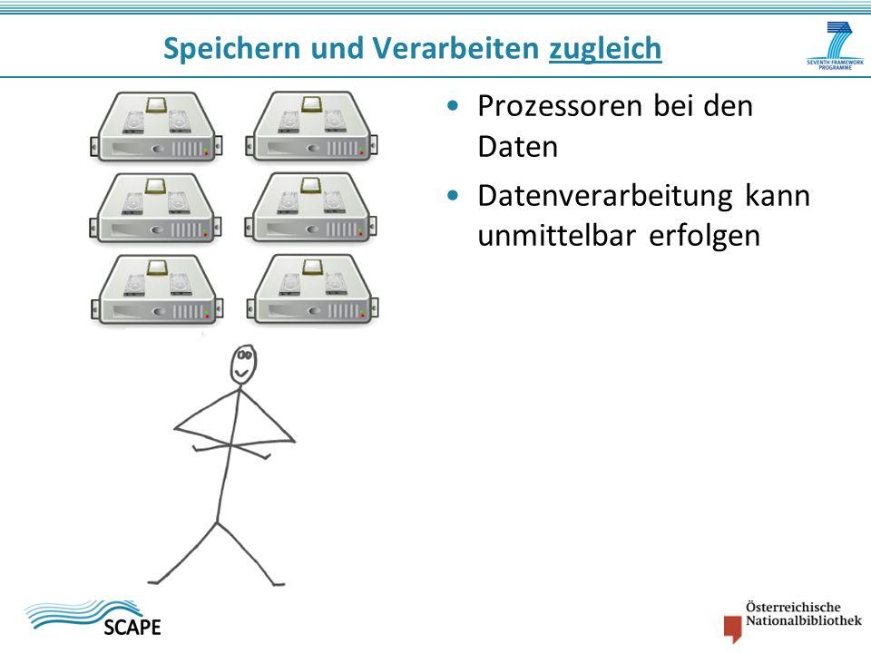 Prozessoren bei den Daten Datenverarbeitung kann unmittelbar erfolgen Speichern und Verarbeiten zugleich