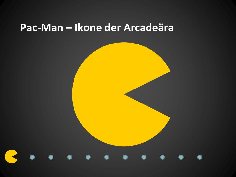 Original – Geschichte 1980 von Namco unter dem Namen Puck Man in Japan veröffentlicht Designer Toru Iwatani1981 Lizenzierung durch Midway Änderung des Namens zu Pac-Man zur Vorbeugung von Vandalismus Original Pac-Man Spielautomaten MidwayNamco
