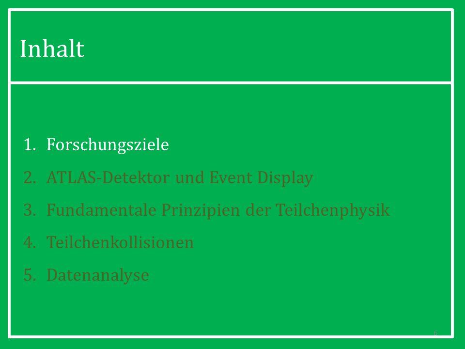 2. ATLAS-Detektor und Event Display 17
