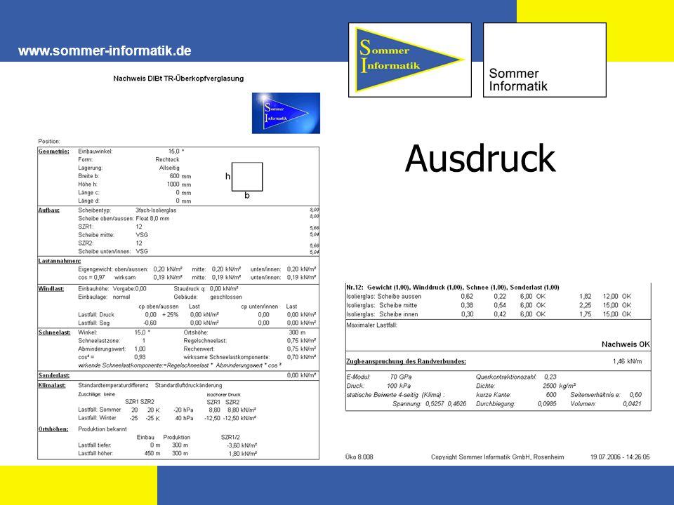 www.sommer-informatik.de Ausdruck